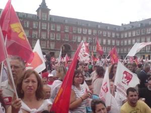Contra la crisis en Madrid