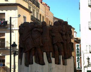 Monumento Martires Atocha (Plaza Antón Martín.Madrid)